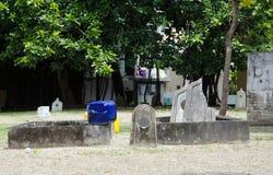 Begraafplaats in de Maldiven Royalty-vrije Stock Afbeelding