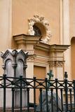 Begraafplaats dichtbij Peter en Paul Fortress in St. Petersburg, Stock Afbeelding