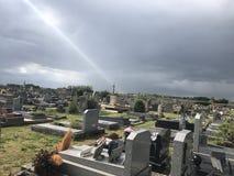 Begraafplaats in Frankrijk royalty-vrije stock foto's