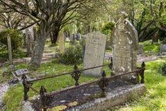 Begraafplaats Gwithian Royalty-vrije Stock Afbeeldingen