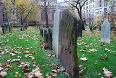 begraafplaats monumenten Royalty-vrije Stock Fotografie