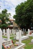 Begraafplaats in Mostar Royalty-vrije Stock Foto