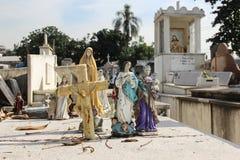 Begraafplaats in Rio de Janeiro Stock Afbeeldingen