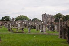 Begraafplaats in St Andrews, Schotland, het UK Stock Afbeeldingen