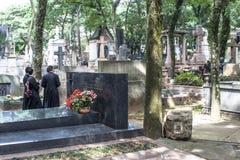 Begraafplaats van Consolacao stock afbeeldingen