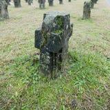 Begraafplaats van Crespi Stock Afbeelding