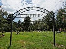 Begraafplaats 1896 van de Copelandkapel Stock Foto's