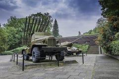 Begraafplaats van Sovjetmilitairen - Seelow Royalty-vrije Stock Foto