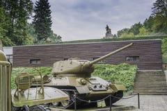 Begraafplaats van Sovjetmilitairen - Seelow Stock Fotografie