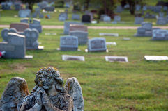 Begraafplaats in Virginia Royalty-vrije Stock Afbeeldingen