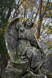 Begraafplaatsbeeldhouwwerk Royalty-vrije Stock Fotografie