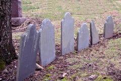 Begraafplaatstellers Stock Foto
