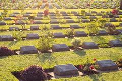 Begraafplaatswereld war2 Royalty-vrije Stock Afbeelding