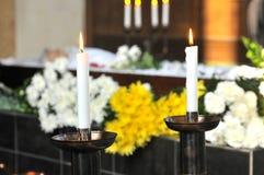 Begrafenis Stock Foto's