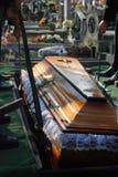 Begrafenis stock foto
