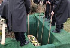 begrafenis royalty-vrije stock fotografie