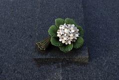 Begrafenis bloemenart. stock fotografie