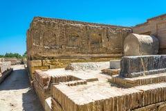 Begrafenis in het necropool van chor-Bakr, de zomer Zonnige dag in Bukha royalty-vrije stock afbeelding