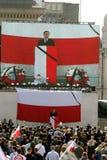 Begrafenis van de Poolse Voorzitter Royalty-vrije Stock Foto's