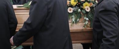Begrafenisscènedetail royalty-vrije stock afbeelding