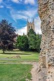 Begrava St Edmunds i suffolken Royaltyfri Bild