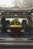 begravning 07 arkivbild