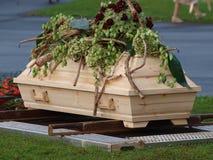 begravning Arkivfoton