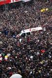Begravning av det unga Gezi offret Royaltyfri Foto