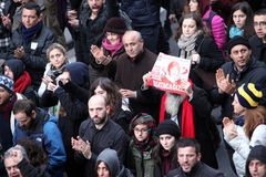 Begravning av det unga Gezi offret Arkivbilder
