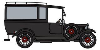Begravnings- bil för tappning vektor illustrationer