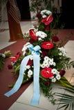 Begravnings- blommor Arkivfoto