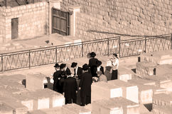 Begravnings- ceremoni Arkivbild