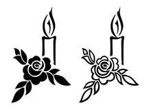 begravnings- garnering vektor illustrationer
