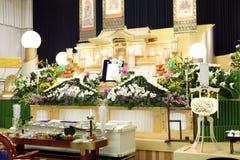 begravnings- japansk stil Royaltyfri Foto