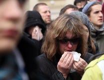 begravnings- vaclav för havel s Fotografering för Bildbyråer