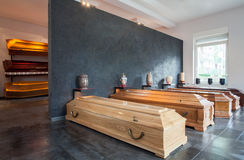 Begravningsbyrå Royaltyfria Foton