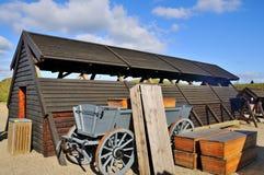 begravningsentreprenörvagn royaltyfri fotografi