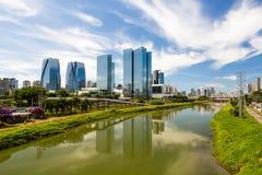 Begrenztes Pinheiros, Sao Paulo, Brasilien lizenzfreie stockbilder