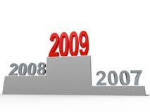 begrepp 2009 stock illustrationer