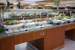 Begrepp av All-inklusive buffé-stil för mat i Turkiet Royaltyfria Bilder