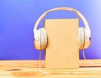 Begrepp av audiobook Royaltyfria Foton