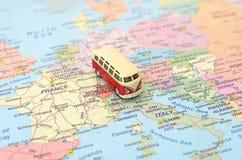 Begrepp av den Europa bilturen arkivfoton
