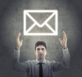 Begrepp av den moderna E-affären royaltyfri bild