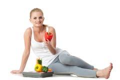 Begrepp av den sunda livsstilen. Arkivbilder