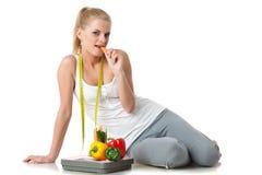 Begrepp av den sunda livsstilen. Royaltyfri Fotografi