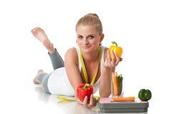 Begrepp av den sunda livsstilen. Royaltyfria Foton