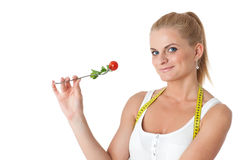 Begrepp av den sunda livsstilen. Arkivbild