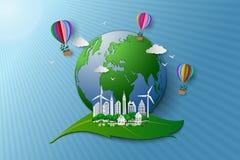 Begrepp av ecovänskapsmatchen och miljöbeskydd Royaltyfri Bild