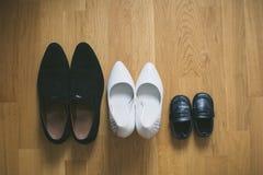 Begrepp av en familjferie Arkivbilder