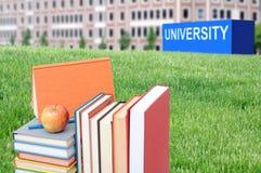 Begrepp av högre utbildning Royaltyfria Bilder